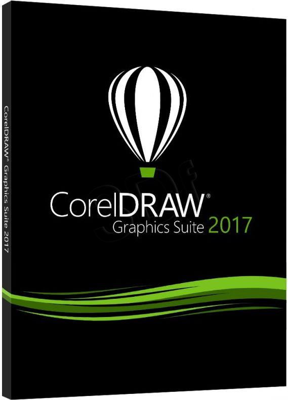 CorelDRAW GS 2017 PL/CZ Box UPG CDGS2017CZPLDPU