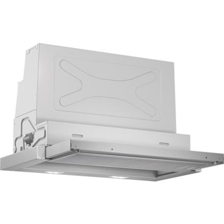 Bosch DFR067A51  LED, Width 60 cm, 740 m³/h, Silver, Energy efficiency class A, 41 dB, Built-in telescopic Tvaika nosūcējs