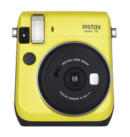 Fujifilm Instax Mini 70 Yellow Digitālā kamera