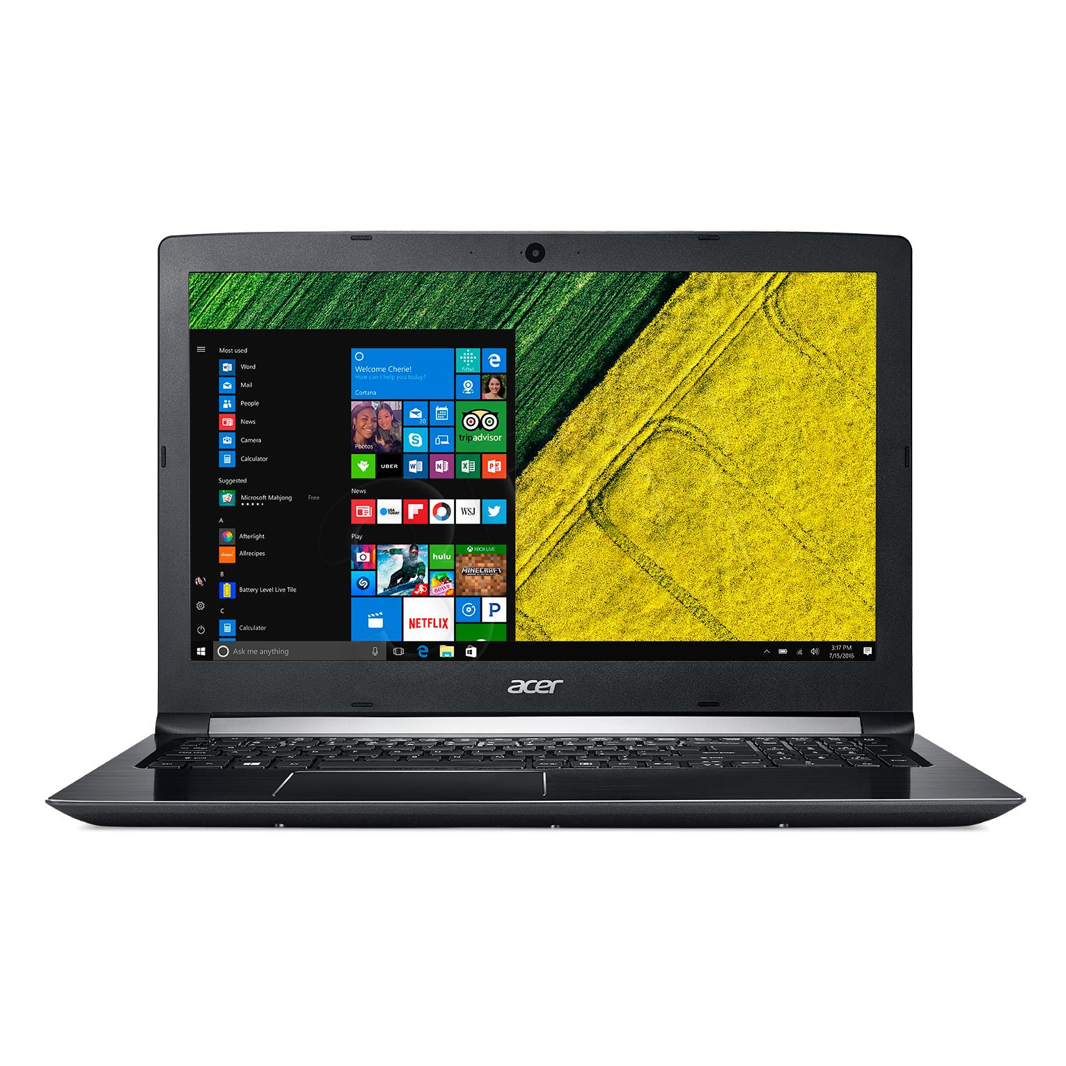 A515-51-75UY REPACK Windows 10 i7-7500U/8GB/1T/Intel HD 620/15.6''FHD Portatīvais dators