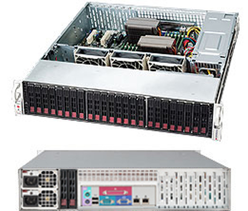 SERVER CHASSIS 2U 920W/CSE-216BE2C-R920LPB SUPERMICRO