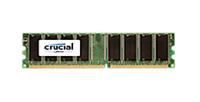 CRUCIAL MEMORY DIMM 1GB PC3200 DDR/CT12864Z40B operatīvā atmiņa