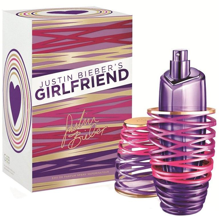 Justin Bieber Girlfriend (EDP,Woman,50ml) T-MLX20692 Smaržas sievietēm