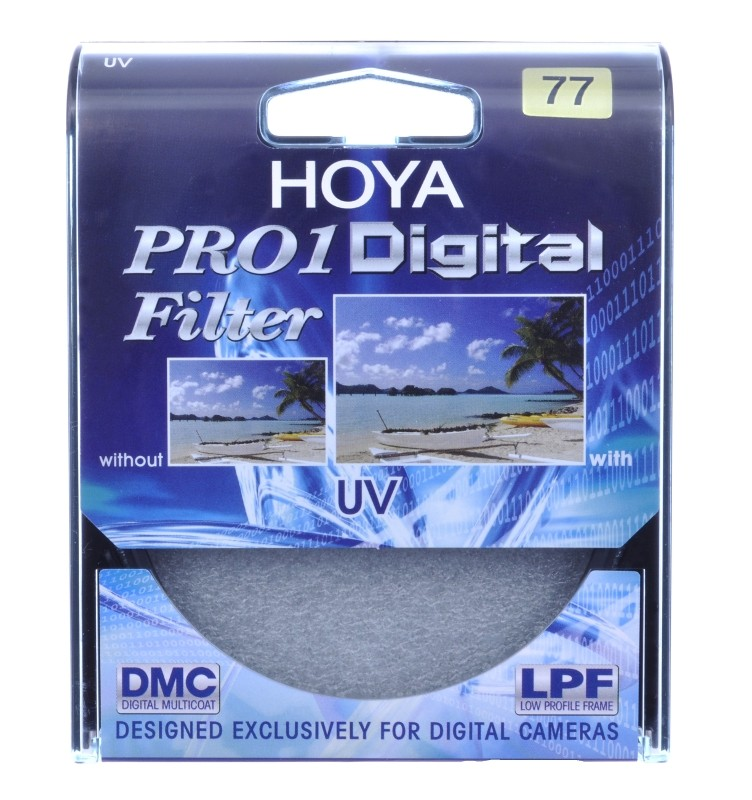 HOYA UV FILTER  (0) PRO1D 77 MM UV Filtrs