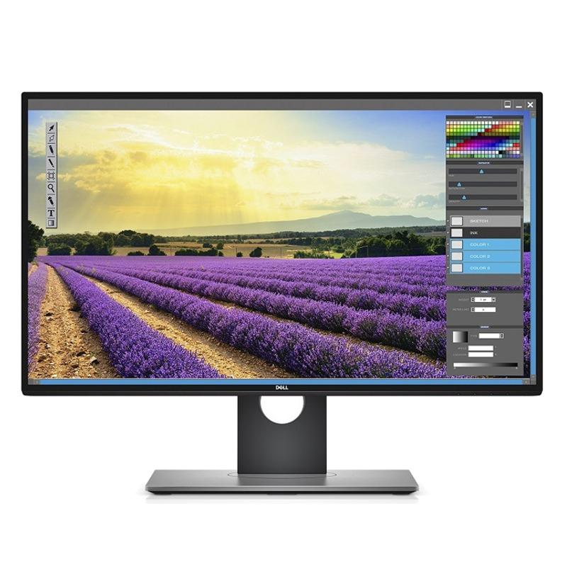 """Dell U2718Q 27 """", IPS, 4K, 3840 x 2160 pixels, 16:9, 5 ms, 350 cd/m², Black, Warranty 60 month(s) monitors"""