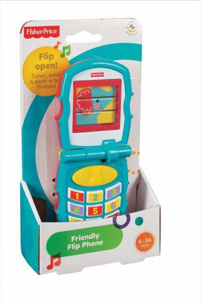 FISHER Telefonik z klapk¹ bērnu rotaļlieta