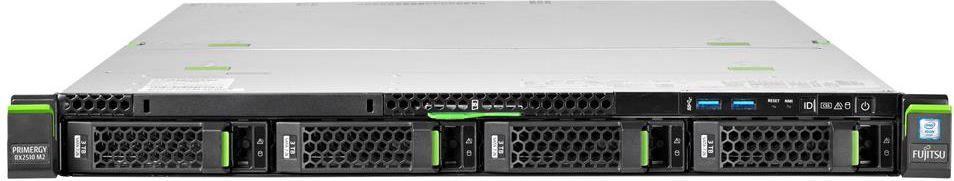 Fujitsu PRIMERGY RX2510 M2 LFF-3 5  ( 1xE5-2603v4 16GB DVD ±RW 450W 3YOS ) serveris