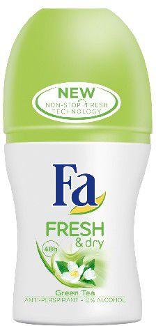 Fa Fresh & Dry Green Tea Dezodorant w kulce  50ml 68935845