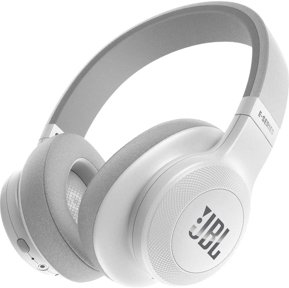 JBL E55BT - Headphones with Microphone - Full-Size - Bluetooth - Wireless - White austiņas