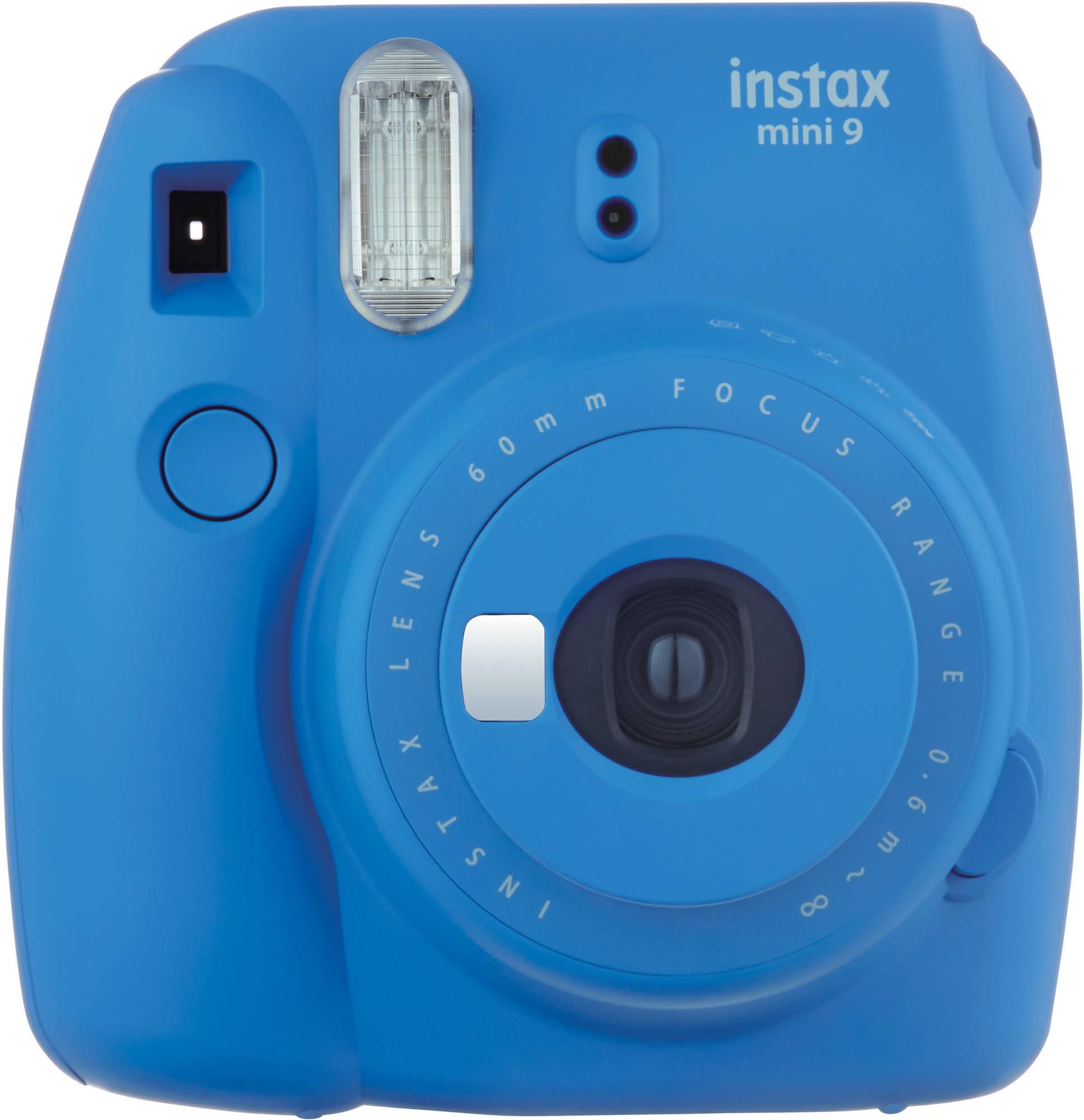 Fujifilm Instax Mini 9, kobalta zils + Instax Mini papīrs 4260074174830 4260074174830 Digitālā kamera