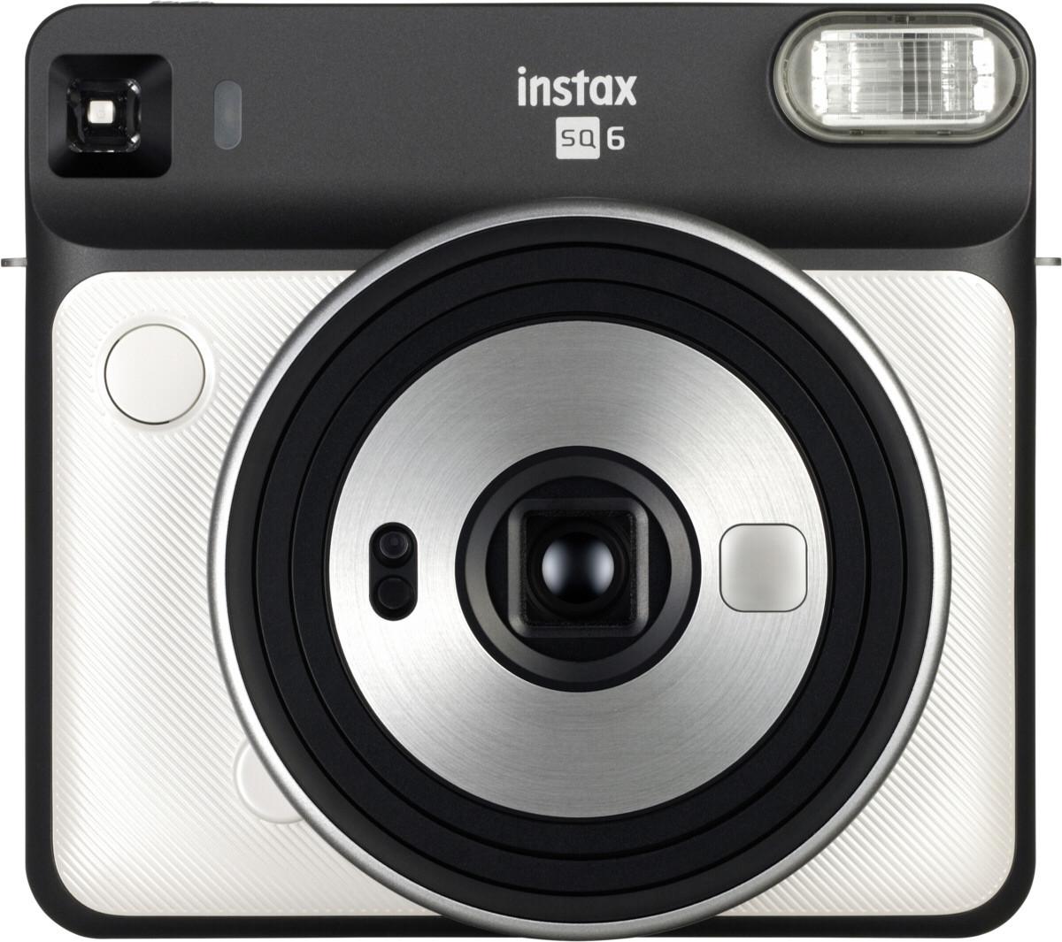 Fujifilm Instax SQ6, pērļu balts + fotomateriāls 4741326404689 4741326404689 Digitālā kamera