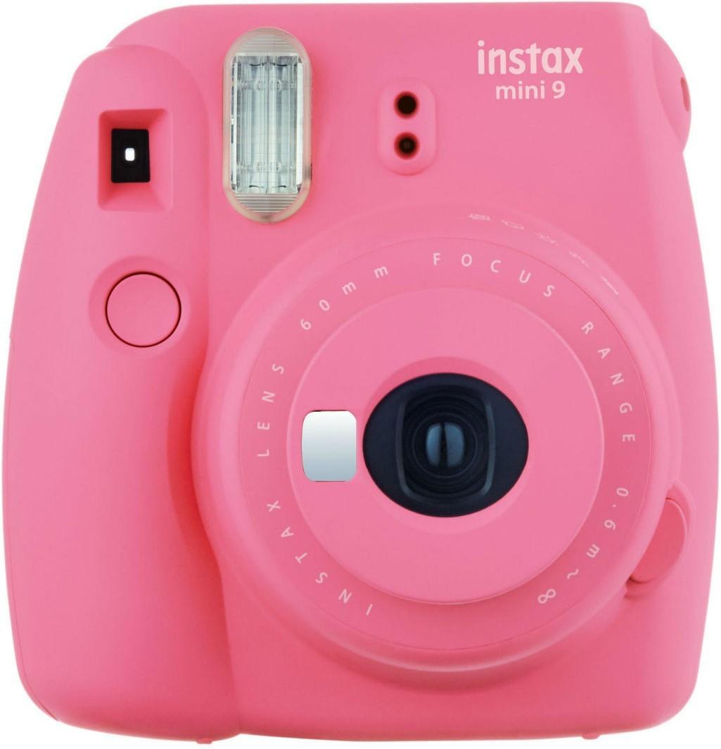 Fujifilm Instax Mini 9, flamingo rozā + Instax Mini papīrs 4260074174809 4260074174809 Digitālā kamera