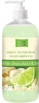 Fresh Juice Zel pod prysznic kremowy Biala Czekolada i Limonka 500ml 812999