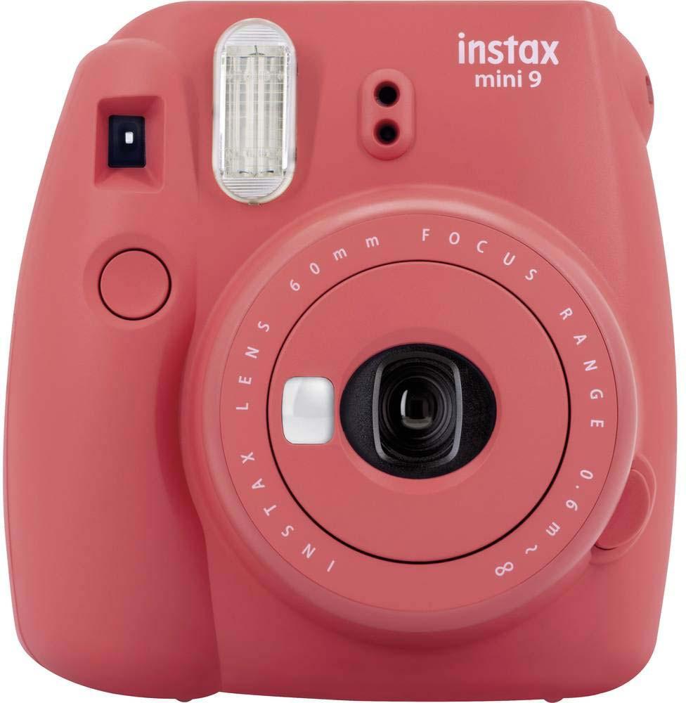 Fujifilm Instax Mini 9, magoņu sarkans + Instax Mini fotomateriāls 4260576530745 4260576530745 Digitālā kamera
