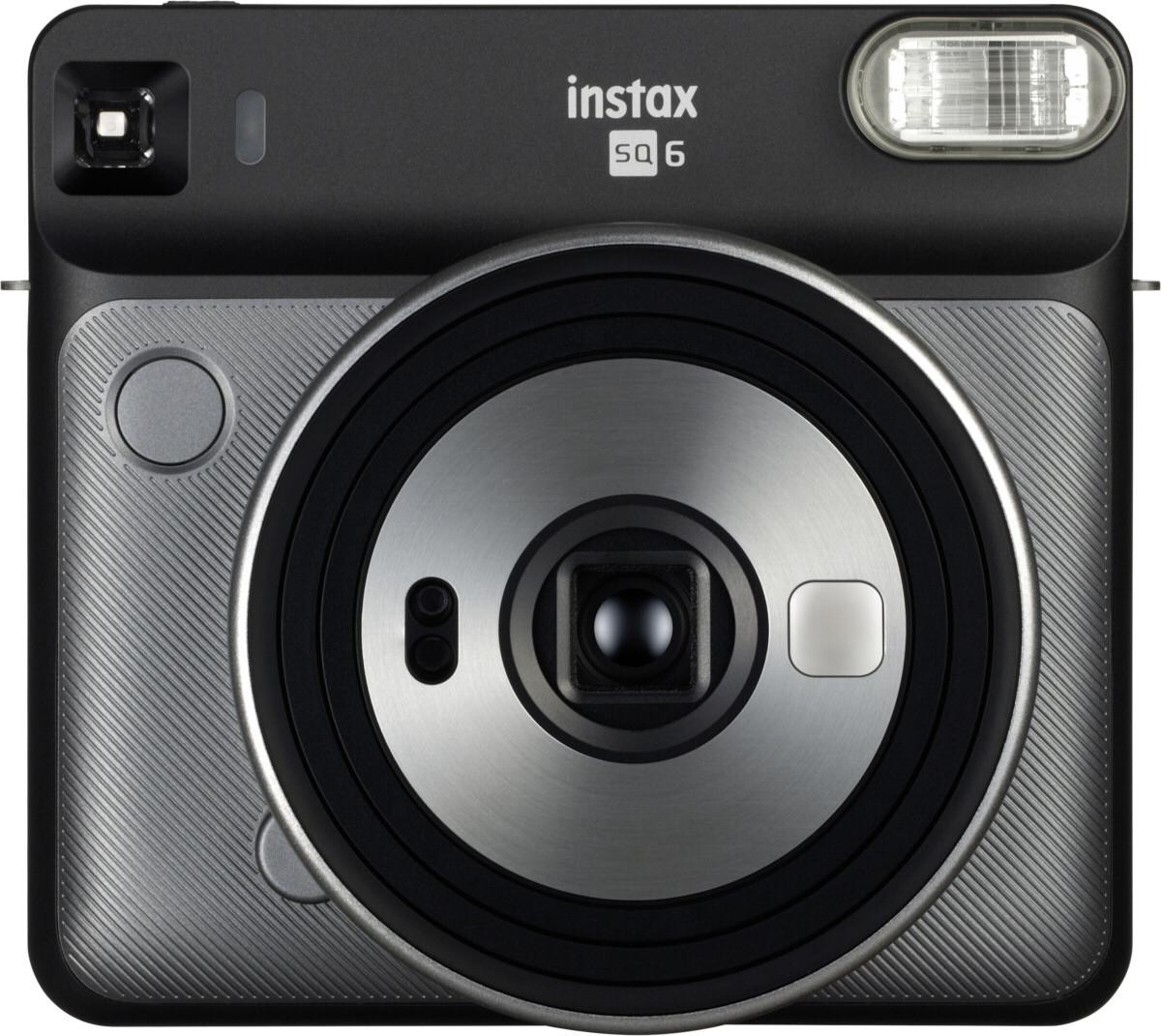 Fujifilm Instax SQ6, grafīta pelēks + fotomateriāls 4741326404672 4741326404672 Digitālā kamera