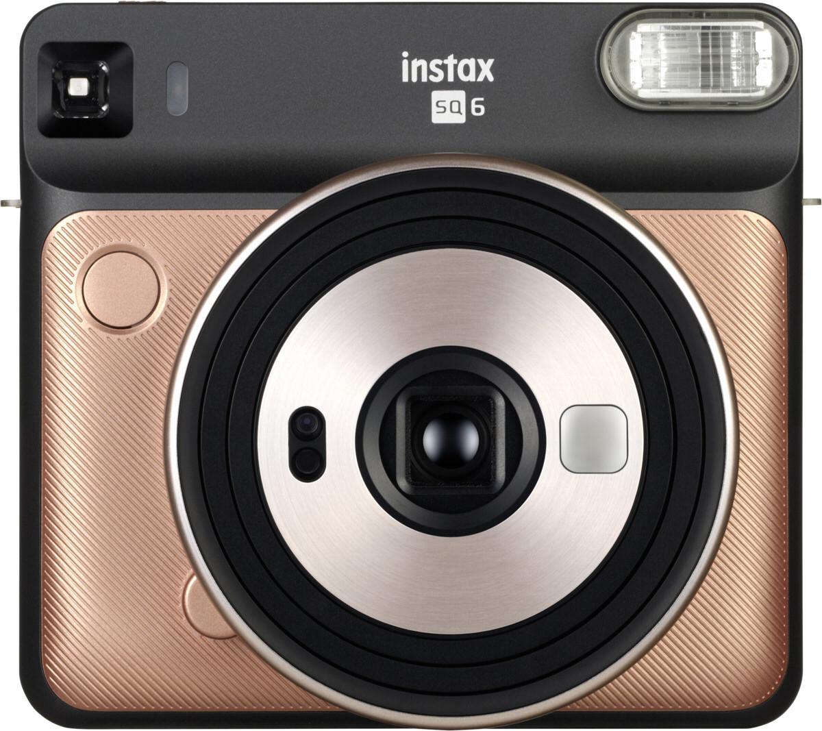Fujifilm Instax SQ6, zeltrozā + fotomateriāls 4741326404665 4741326404665 Digitālā kamera