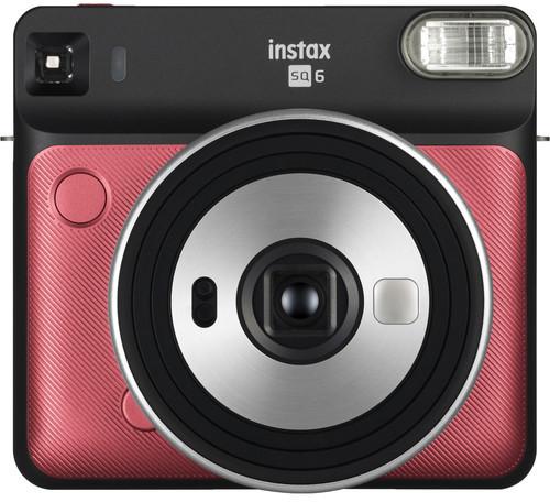 Fujifilm Instax SQ6, rubīna sarkans + fotomateriāls 4741326404696 4741326404696 Digitālā kamera