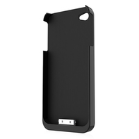 Fluxport Fluxy 4A for iPhone 4, 4s Qi-Case   black