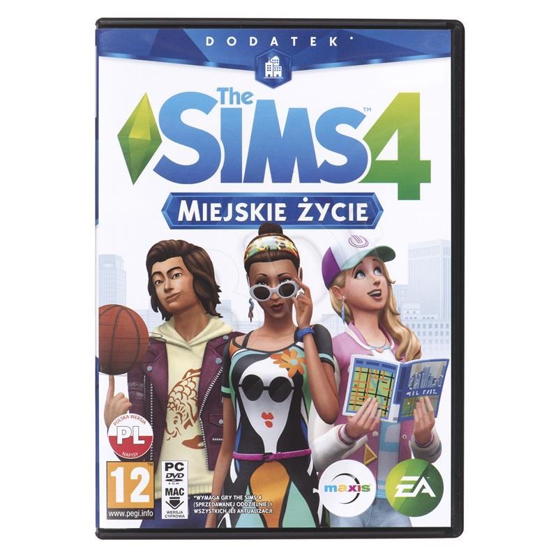 The Sims 4 - Miejskie Zycie (dodatek) (PC) spēle