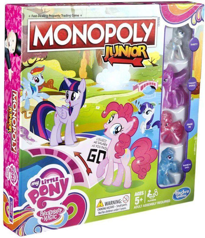HASBRO Monopoly My Little Pony Junior B8417 galda spēle