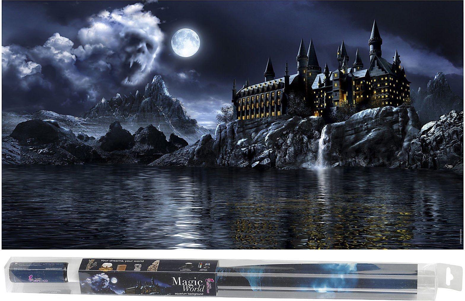 Hydor HYDOR H2shOw Magic World - tlo 80 x 40 cm + zel 1105455