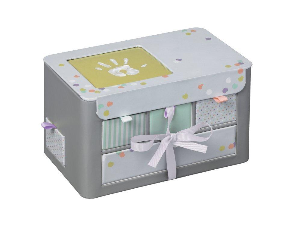 Baby Art personalizētā bērnības atmiņu lāde, grey 34120113 bērnu rotaļlieta