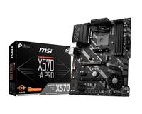 MB AMD AM4 MSI X570-A PRO pamatplate, mātesplate
