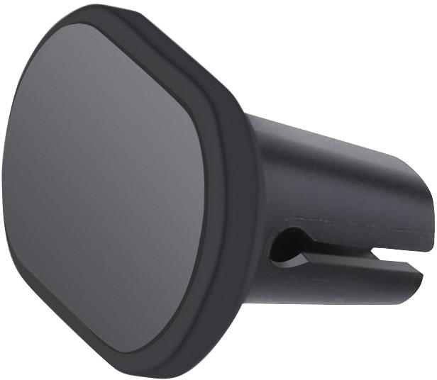 Omega telefona auto turētājs stiprināšanai pie ventilācijas restes Magnet, melns (43482) 5907595434829 Mobilo telefonu turētāji