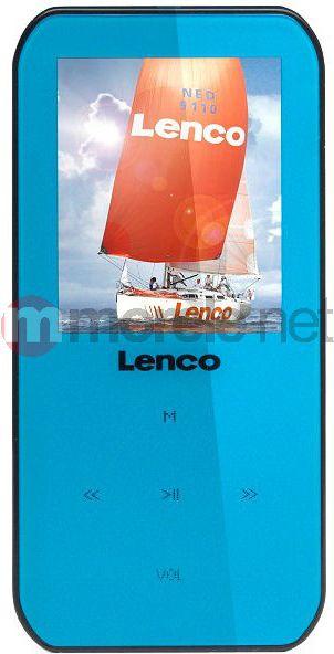 Odtwarzacz MP4 Lenco XEMIO-655 4GB NIEBIESKI XEMIO6554GBNIEBIESKI MP3 atskaņotājs