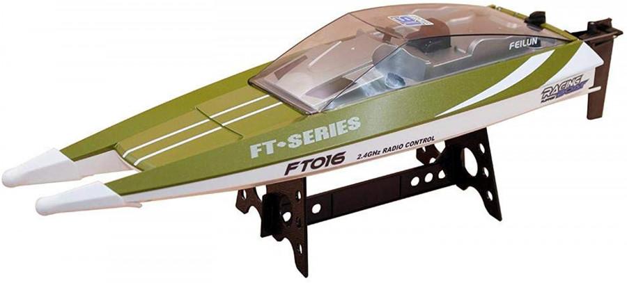 FT016 boat 2.4GHz RTR (47cm, 30km/h, 540 class motor) - Green FT016-GRN