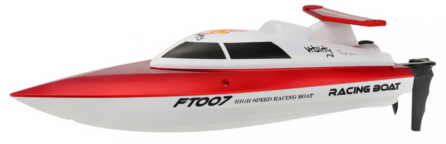 Motorboat Vitality 1:16 (2.4Ghz, RTR, range up to 150m) - Red FT007-RED