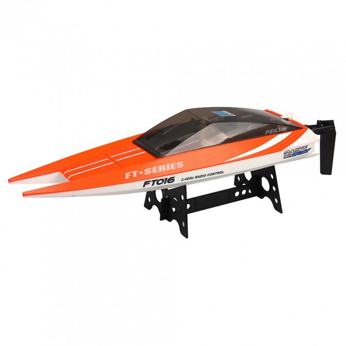 FT016 boat 2.4GHz RTR (47cm, 30km/h, 540 class motor) - Orange FT016-ORG