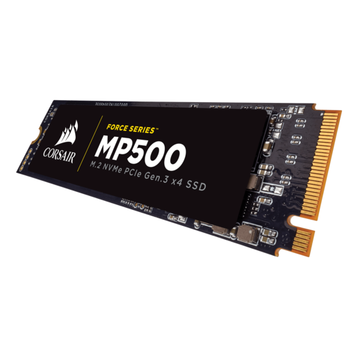 Corsair Force MP510 SSD PCIe M.2 NVMe 240GB SSD disks