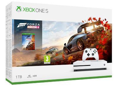 Microsoft Xbox One S 1TB + Forza Horizon 4 spēļu konsole