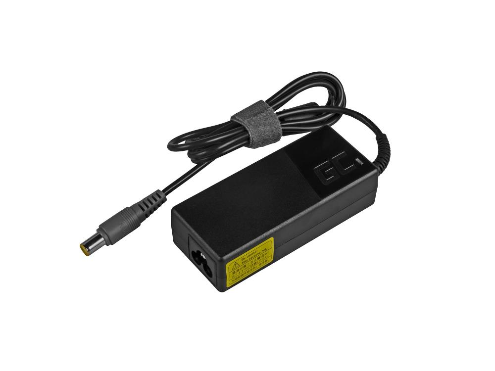 Green Cell Charger / AC Adapter for Lenovo T430s T510 T520 X61 Tablet X100e X200 20V 3.25A portatīvo datoru lādētājs
