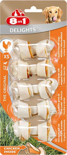 8in1 Delights Bones XS 5 sztuk 1437046