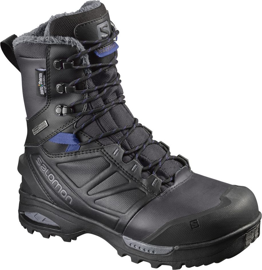 Salomon Buty damskie Toundra Pro CSWP Phantom/Black/Amparo Blue r. 40 2/3 (399722) 399722
