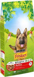 Purina Friskies Vitafit Active - 10 kg barība suņiem