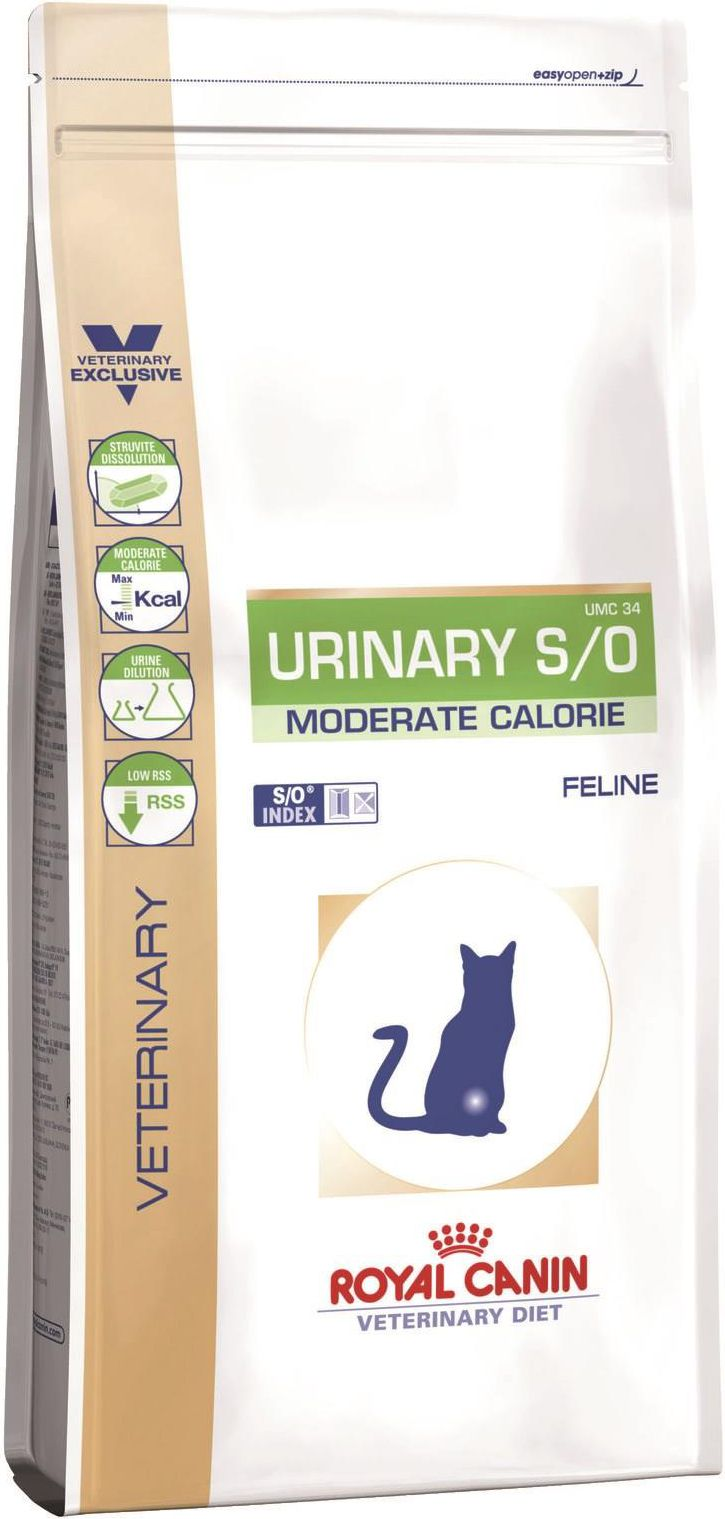 Royal Canin Urinary Moderate Calorie Cat 3.5kg kaķu barība
