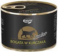 Lukow Natural Taste Junior Bogata w Kurczaka puszka - 185g VAT006298 kaķu barība