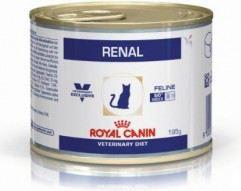 Royal Canin Veterinary Diet Feline Renal puszka 195g VAT008952 kaķu barība