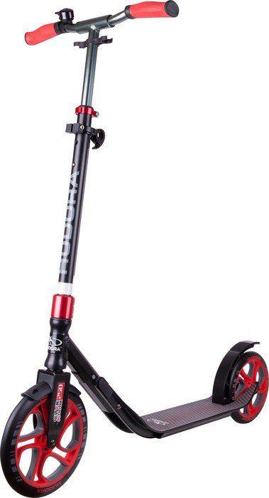 Hudora Scooter CLVR 250 Bk / Red (14831 - 14831) Skrejriteņi