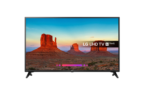 LG 49UK6200PLA ULTRA HD SMART TV Wi-Fi 2018 LED Televizors