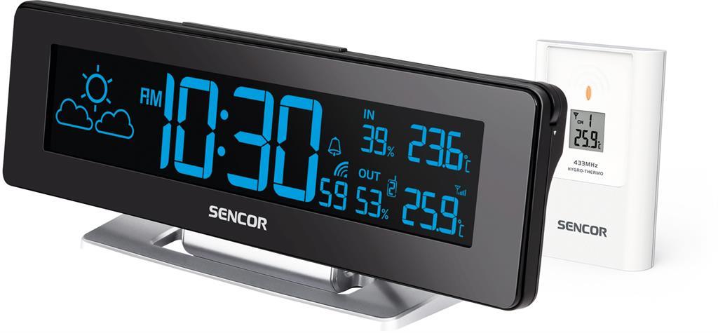 SENCOR SWS 8400 barometrs, termometrs