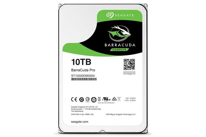 Internal HDD Seagate BarraCuda Pro 3.5'' 10TB SATA3 7200RPM 256MB cietais disks