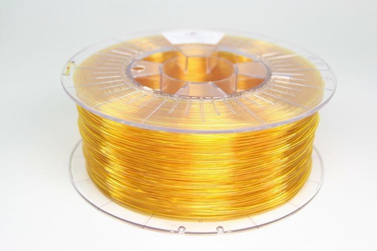 Filament SPECTRUM / PETG / TRANSPARENT YELLOW / 1,75 mm / 1 kg 3D printēšanas materiāls