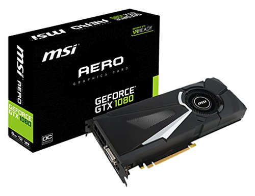 MSI GeForce GTX1080 AERO OC 8GB video karte