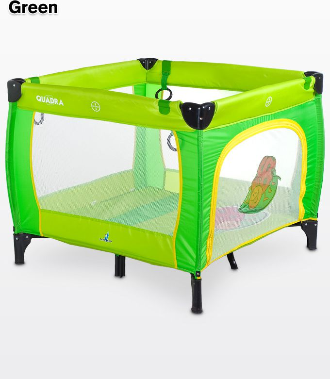 Caretero Playpen Quadara green