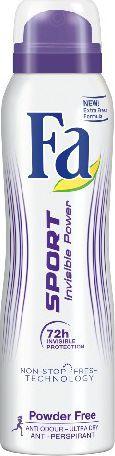 Fa Sport Invisible Power Dezodorant spray  150ml 68806589