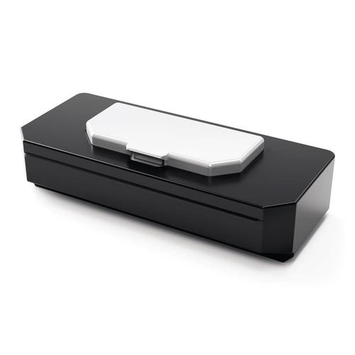 NOBO Diamond board 60x45 cm, white, glass, magnetic biroja tehnikas aksesuāri